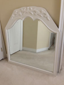 ONLY $85 For This ANTIQUE SCALLOPED BEVELLED GLASS Mirror