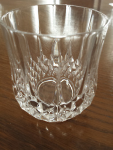 Assorted Crystal Drinking Glasses