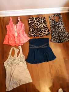 Various Womans Clothing