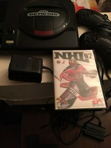 Sega genesis with 1 game