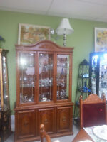 ORNATE CHINA CABINET BLOW OUT DEAL! $395.00