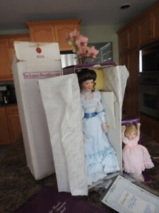 Collector doll set from 1989 Limited Edition, original packaging