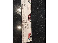 2 tickets for the Nelson Mandela trilogy
