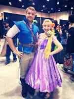 Rapunzel (tangled) available for parties and events