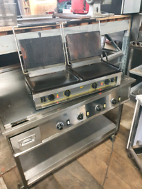 Commercial panini machine
