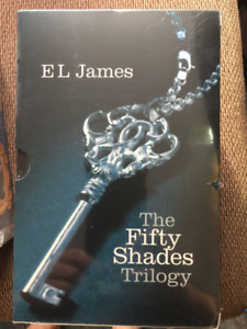 50 shades of grey trilogy books - BRAND NEW SEALED