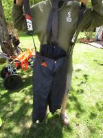 pantalon sécuritaire pour scie à chaine