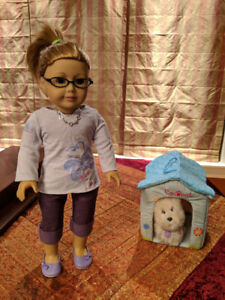 All-inclusive American Girls Doll + outfits & accessories