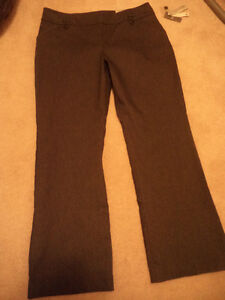ladies stretch brand new trousers, size 14 charcoal grey in colo