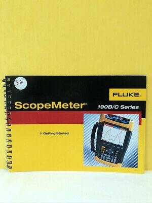 Fluke 4822 872 30701 192b196b-c199b-c Scopemeter Getting Started Manual