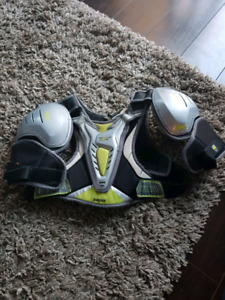 Youth XXS lacrosse shoulder pads