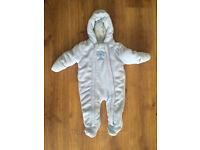 3-6 month boys snow suit