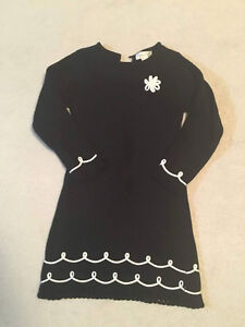 Girls sz 5/6 black sweater dress Oakville / Halton Region Toronto (GTA) image 1
