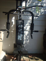 Weider complete home weight lifting station