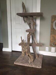 Drift Wood Cat Post