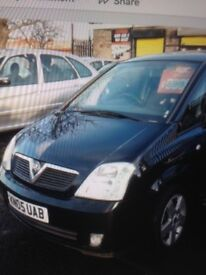 1.7 diesel meriva in excellent condition comes with mot