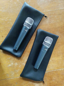 Pair of Sure Beta 57a microphones