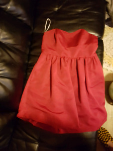 Bridesmaid dress strapless Size 14