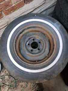 Trailer rims and tires 5x4.5 Kitchener / Waterloo Kitchener Area image 1