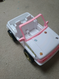 Barbie 4x4 car