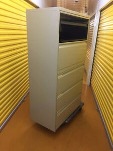 5 Drawer Lateral File Cabinets  and Classuers Available Kitchener / Waterloo Kitchener Area image 5