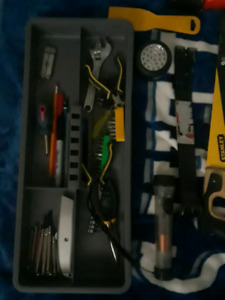 Tools, Tool box, Tool belt.