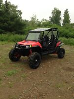 2013 RZR 900 XP 4 Seater Loaded with Acc.