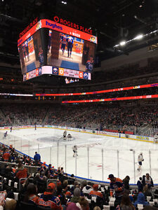 Oilers vs Kings (Lower Bowl - Attack Zone Twice)