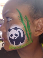 Face Painting & Glitter Tattoos for 1.5 Hours for Only $145
