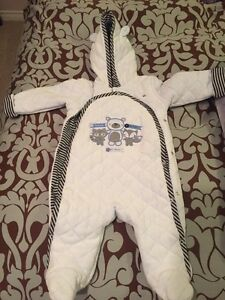 New baby snowsuit