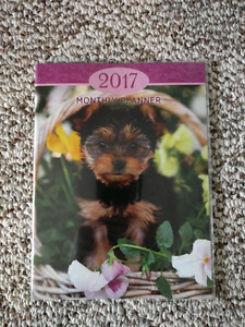 2017 Monthly Planner