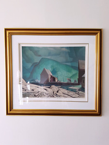 "Limited Edition ""Sunshine after Rain"" print by A J Casson"