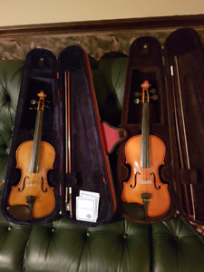 Two Stentor Student Violins