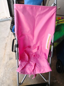 pink simple stroller very Good cinditio.