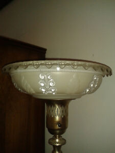 REDUCED!!! Pair of Pretty Vintage Torchiere Lamps $99.00 pair