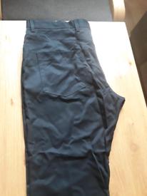 Mans trouser size 36 black next