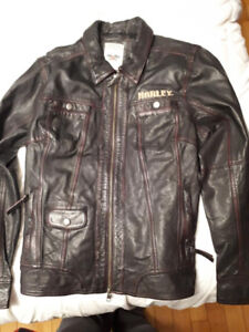 Woman's Harley Leather Jacket