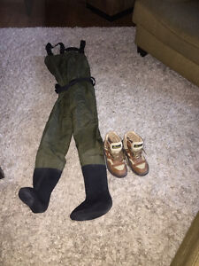 Ladies Orvis waders and boots for sale