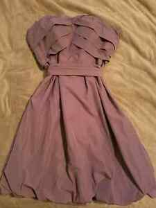 Dusted Rose Strapless Dress Size 12