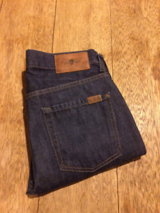 NEW - 7 For All Mankind Denim Jeans Skinny Slim Fit Seven sz 29""