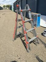 Little giant ladder 5 ladders in one