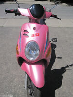 E-BIKE ( GIO Electric Scooter) with Panasonic Lithium battery