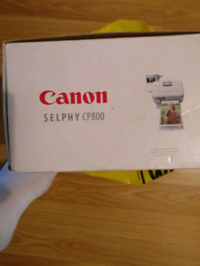Canon selphy cp800 mobile and compact printer