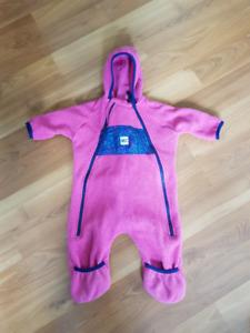 MEC Kids One-Piece Fleece Suit - Size 6 Months