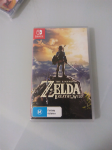 Zelda Breath of the wild game Switch Nintendo