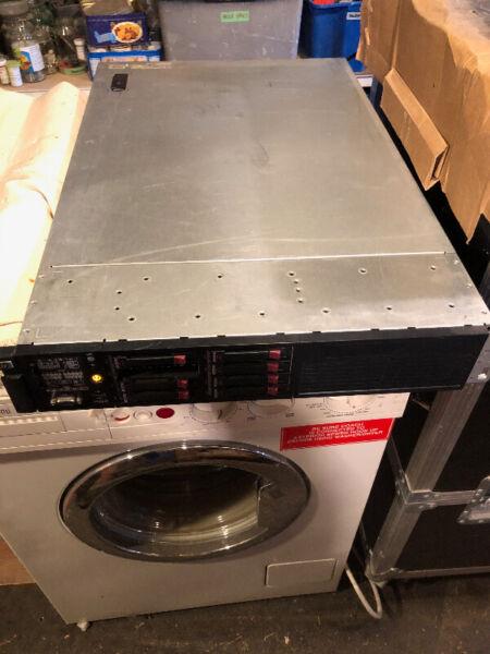 Hpe proliant dl380 server & supermicro server