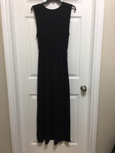 Long Black Dress - Only Worn Once! Like Brand New. $25