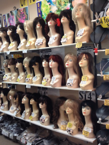high quality Halloween custome WIG  for only $ 15/ea closing