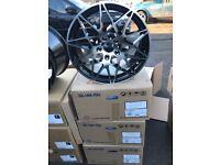 "4 18"" alloy wheels Alloys Rims tyre tyres 5x120 BMW 1 2 3 4 5 series"