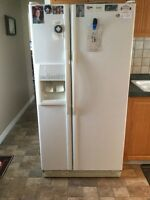 whirlpool fridge and stove for sale